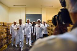 مراسم رونمایی از سه داروی جدید در مشهد