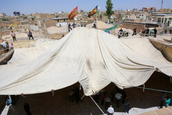 Preparations for Muharram in Qom