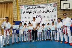 کسب ۱۱ مدال رنگارنگ توسط پسران کاراته کای نهاوندی