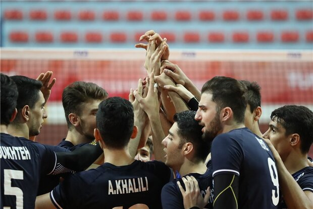 Iran volleyball gets into knockout stage of U19 Boys' World C'ship