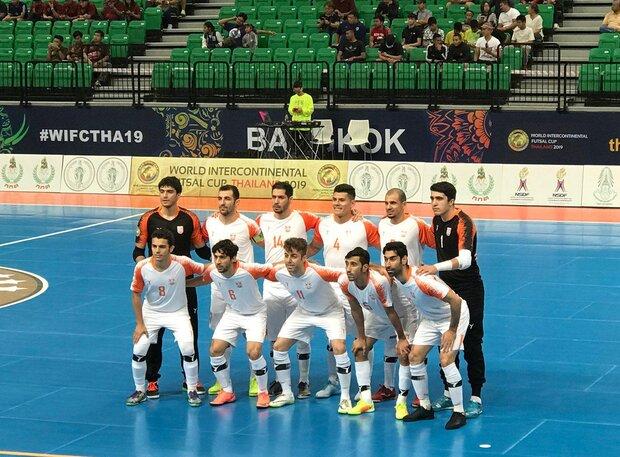 Iran's Mes falls short of Brazil's Magnus in 2019 World Intercontinental Futsal Cup