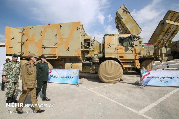 Army cmdr. visits Bavar 373 missile system