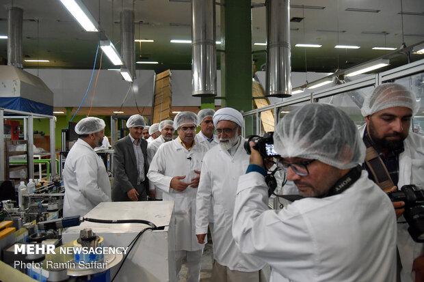 مراسم رونمايی از سه داروی جدید در مشهد