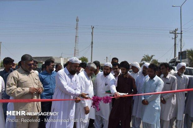 افتتاح و کلنگ زنی چند طرح عمرانی و آموزشی در زرآباد کنارک