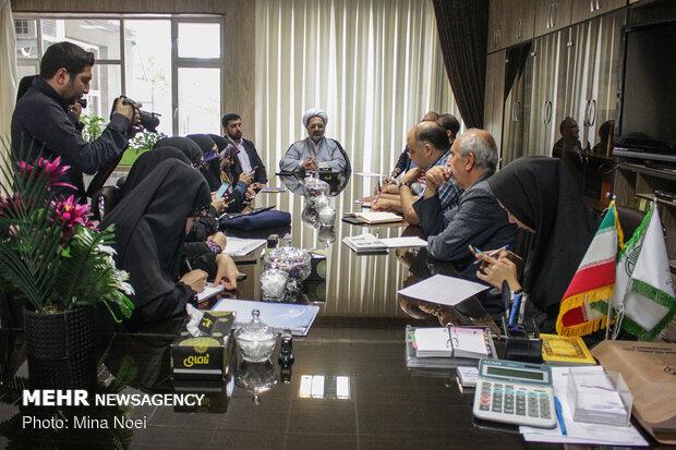 دیدار حجت الاسلام حسن شعبانی مدیرکل تبلیغات اسلامی آذربایجان شرقی با اصحاب رسانه