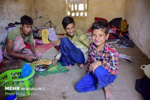 Gülistan'da mevsimlik tuğla işçileri