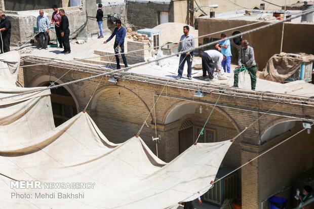 Preparation for Ashura in Qom