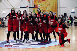 Iran women basketball gains first-ever medal in intl. event