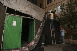 Preparations for Muharram in Tehran prov.