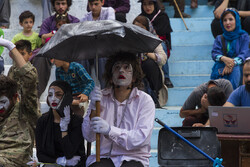 Last day of Mariwan Intl. Street Theater Festival