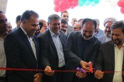 سالن ورزشی شهدای مدافع  حرم مسکن مهر دامغان افتتاح شد