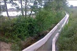 دو طرح انتقال آب کشاورزی در طارم قزوین افتتاح شد