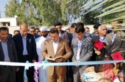۲ فضای آموزشی در شهرستان سیریک افتتاح شد
