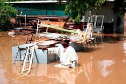 سيل يضرب أطراف نهر النيل في السودان /صور