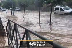 اسپین میں ہولناک سیلاب