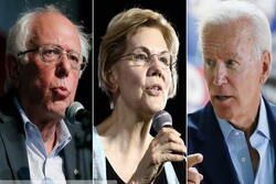 پیشیگرفتن بایدن و سندرز در رقابتهای ریاستجمهوری آمریکا