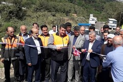 پروژههای عمرانی و بومگردی در صومعه سرا بهره برداری شد