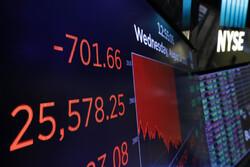 داوجونز در آخرین روز معاملات باز هم ۷۰۰ واحد سقوط کرد