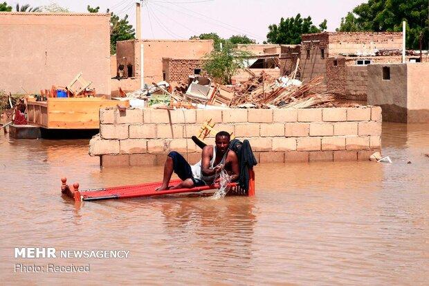 Sudan'da sel felaketi