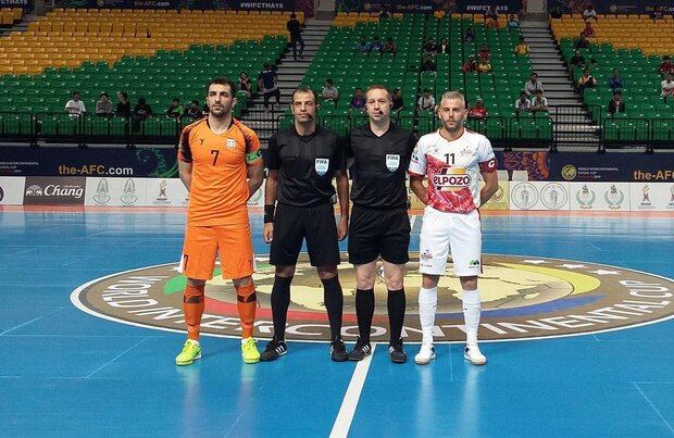 Mes Sungun fails to advance to Intercontinental Futsal Cup semis