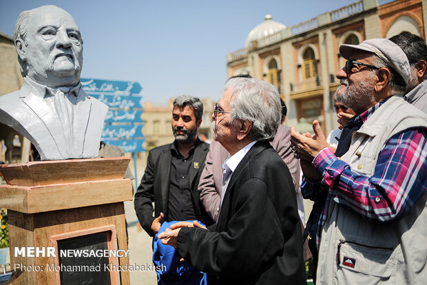 Busts of veteran Iranian artists unveiled