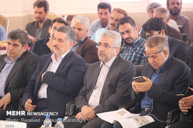 سفر رضا اردکانیان وزیر نیرو به زنجان