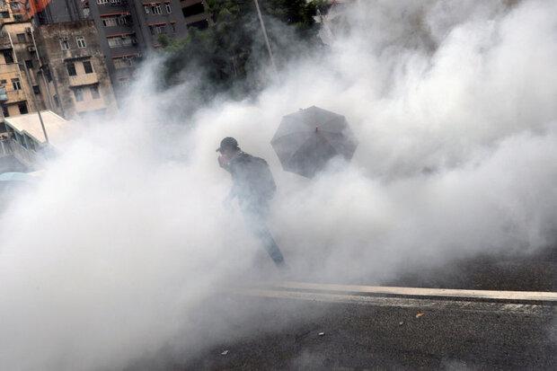 چین تولید گاز اشکآور را  بدلیل رشد تقاضا افزایش داد