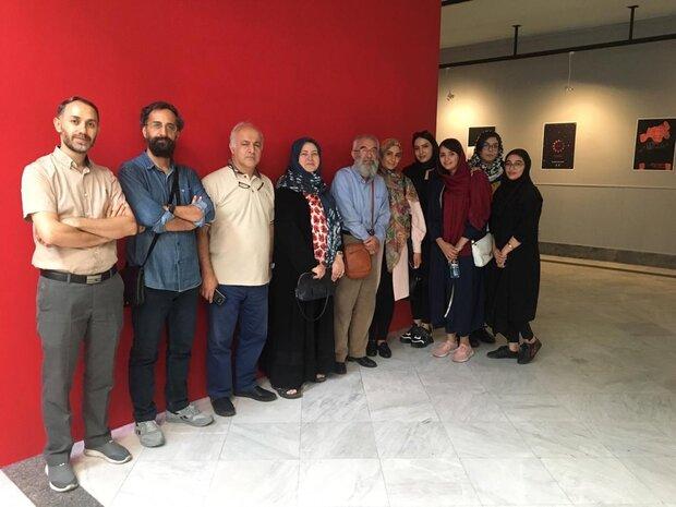 آثار زنان طراح شیراز به تبریز رسید