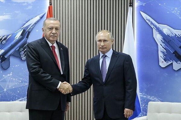پوتین و اردوغان در ارتباط با سوریه تلفنی گفتگو کردند