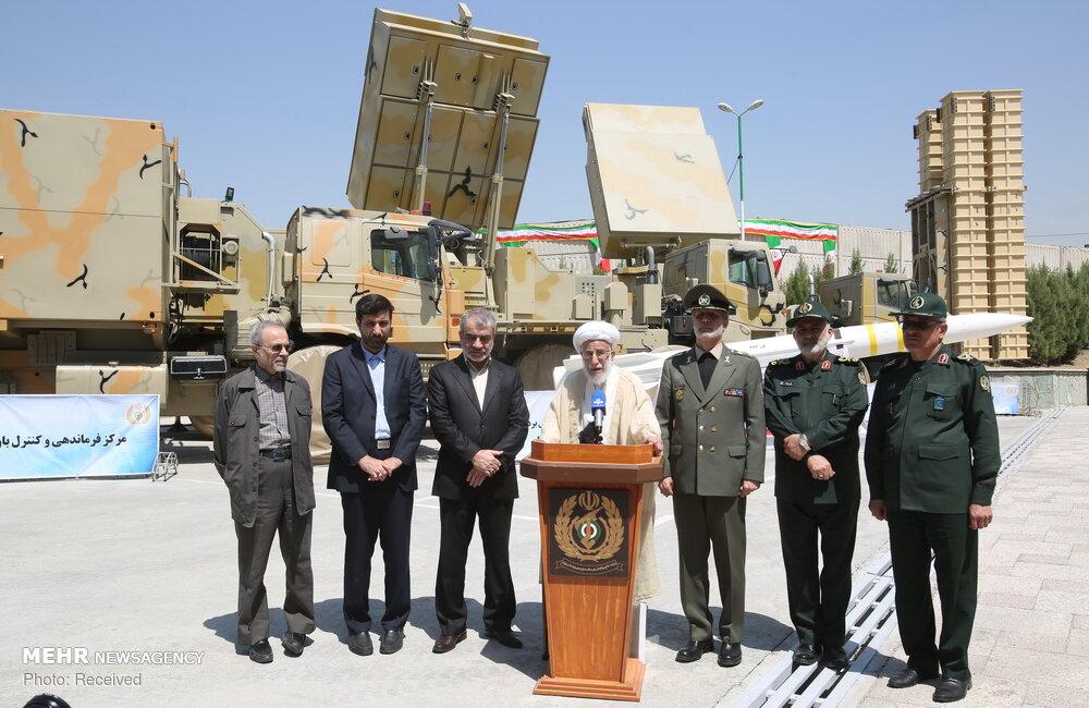 Mehr News Agency - Ayatollah Jannati visits Bavar-373 air