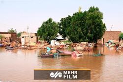 بعد از سیل مادرید حالا نوبت به سودان رسید