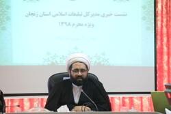 تشکل های مذهبی در استان زنجان باید ساماندهی شوند