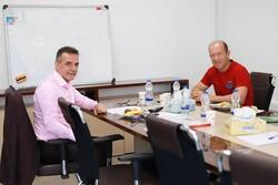 کالدرون به دیدار مدیرعامل پرسپولیس رفت