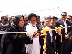مجتمع آموزشی آفتاب و دبیرستان دخترانه کاشانی در میناب افتتاح شد