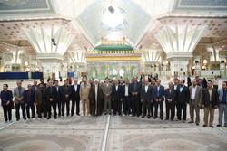 مسئولان استان قزوین با آرمانهای امام راحل تجدید میثاق کردند