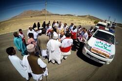 ارائه خدمت کاروان سلامت استان آذربایجان غربی در مهرستان