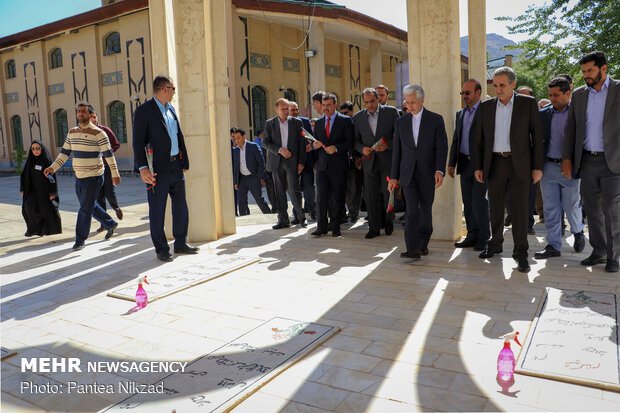 Science min. inaugurates projects at Shahrekord University