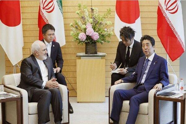 FM Zarif, Japanese PM Abe discuss bilateral ties, intl. developments