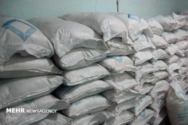 کشف ۱۵ تن شکر قاچاق در شهرستان کبودرآهنگ