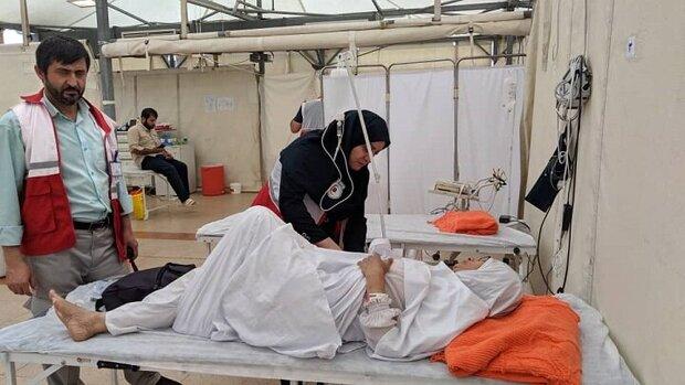 بستری شدن ۱۸ زائر در بیمارستان های سعودی و هلال احمر