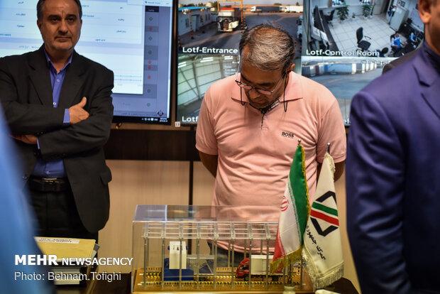 مراسم افتتاح پروژه های جدید گمرک با حضور وزیر اقتصاد