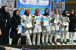 قهرمانی رکابزنان بانوان آذربایجان شرقی در المپیاد استعدادهای برتر