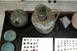 کشف اشیاء تاریخی سفالی با قدمت هزاره اول پیش از میلاد در زنجان
