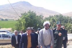 افتتاح پروژههای ساخت خانه و آبرسانی به روستاها توسط سپاه لرستان