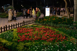 نمایشگاه گل و گیاه در آمل افتتاح شد