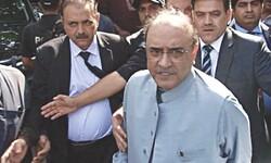 پاکستان کے سابق صدر زرداری کو طبی معائنے کے لیے ہسپتال منتقل کردیا گیا