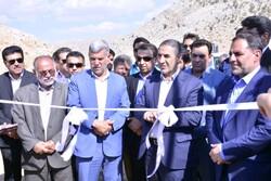 پروژه احداث باند دوم جاده یاسوج به بابامیدان افتتاح شد