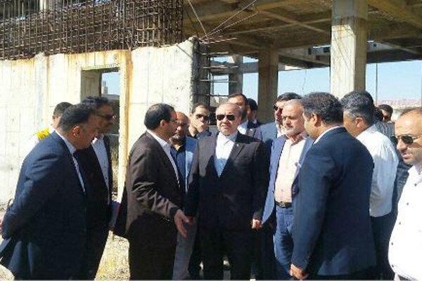 وزیر ورزش و جوانان از استادیوم ۶ هزار نفری قزوین بازدید کرد
