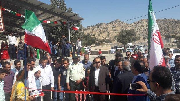 افتتاح پروژههای شهرستان کازرون همزمان با هفته دولت