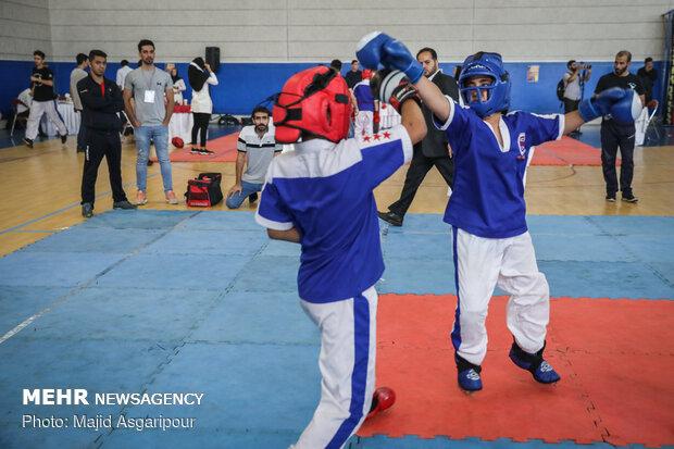 مسابقات کنتاکت کاراته قهرمانی کشور